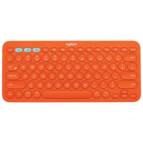 Clavier mécanique Bluetooth K380 de Logitech - Orange - Anglais