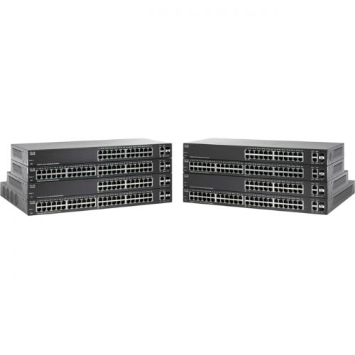 Cisco SG220-26P 26-Port Gigabit PoE Smart Plus Switch