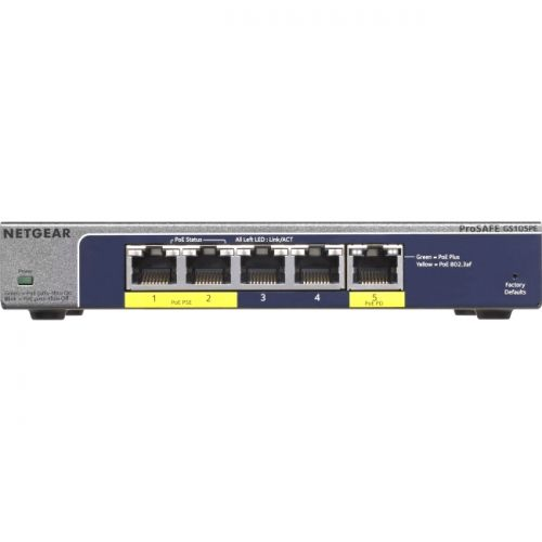 Netgear ProSafe GS105PE Ethernet Switch
