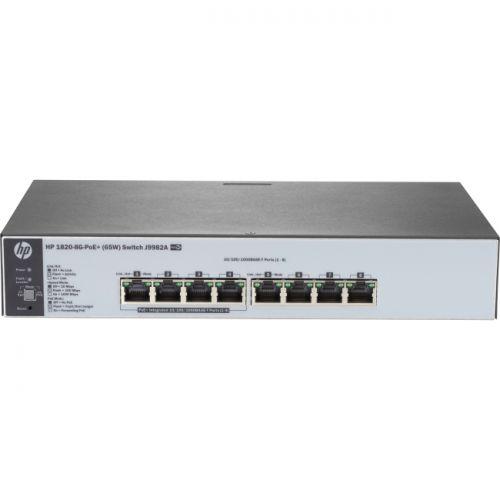 HP 1820-8G-PoE+ (65W) Switch