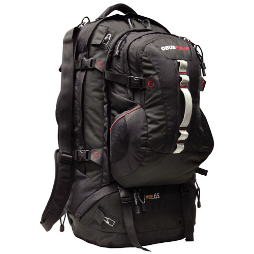 ObusForme Trip 90L Travel Backpack - Black : Backpacks - Best Buy ...