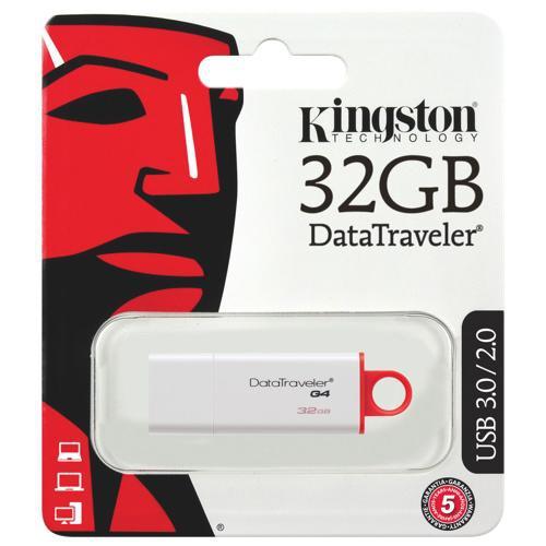 Kingston 32GB DataTraveler G4 USB 3.0 Flash Drive