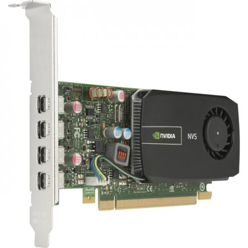 HP Quadro 510 Graphic Card - 797 MHz Core - 2 GB DDR3 SDRAM - PCI Express 2.0 x16 - Low-profile