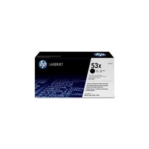 HP 53X (Q7553X) High Yield Black Original LaserJet Toner Cartridge