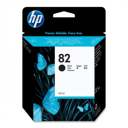 HP 82 Black Ink Cartridge