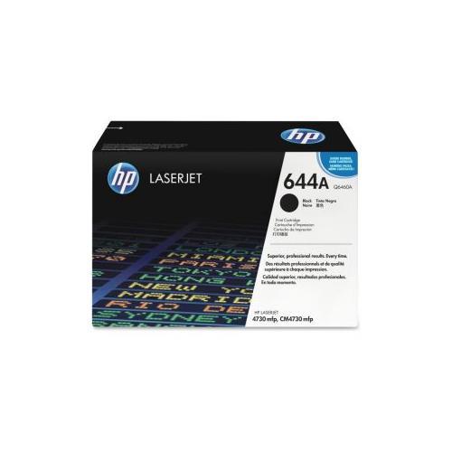 HP 644A (Q6460A) Black Original LaserJet Toner Cartridge