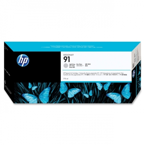 HP 91 Pigment Light Gray Ink Cartridge