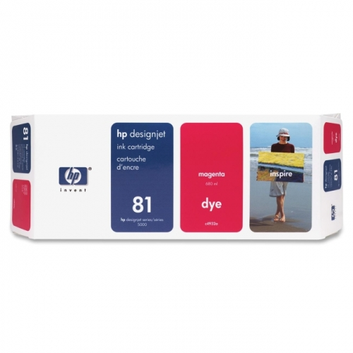 HP 81 Magenta Ink Cartridge