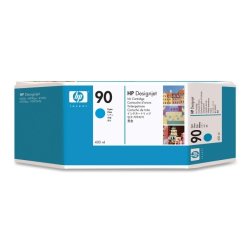 HP 90 Cyan Ink Cartridge