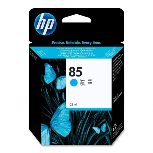 HP 85 Cyan Ink Cartridge