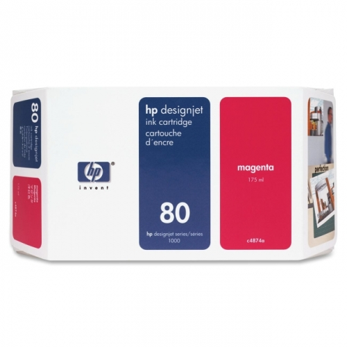 HP 80 Magenta Ink Cartridge