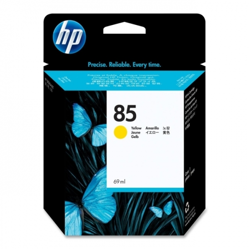 HP 85 Yellow Ink Cartridge