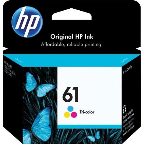 HP 61 Ink Cartridge - Cyan, Magenta, Yellow