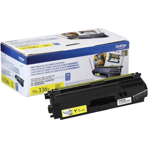Brother TN336Y Toner Cartridge - Yellow
