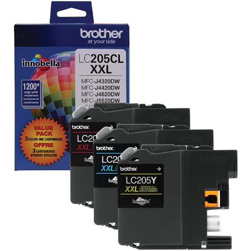 Brother Innobella LC2053PKS Ink Cartridge - Cyan, Magenta, Yellow