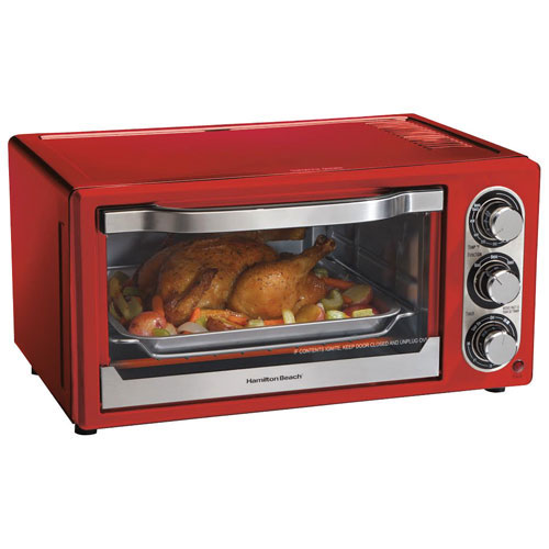 Hamilton Beach Convection Toaster Oven Red Toaster Ovens