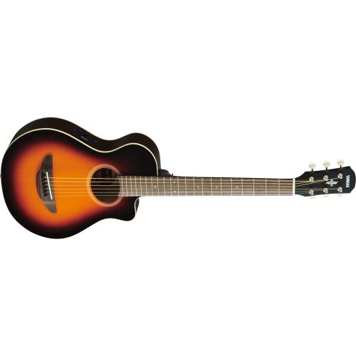 Yamaha APXT2 3/4 Size Acoustic Electric Guitar - Old Violin Sunburst