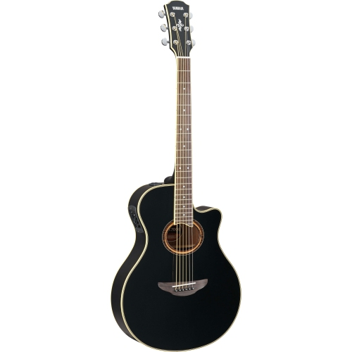 Yamaha APX700II Thin-Line Acoustic Electric Guitar - Black