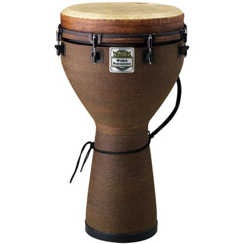 Remo Mondo Djembe Drum - Earth, 10""