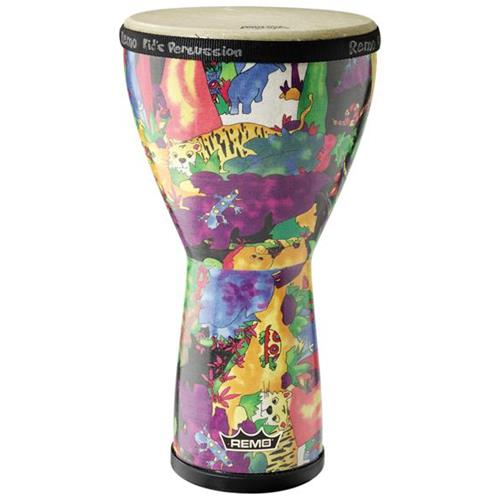 "Remo KD-0608-01 Kids Percussion Djembe - 14""x8"""
