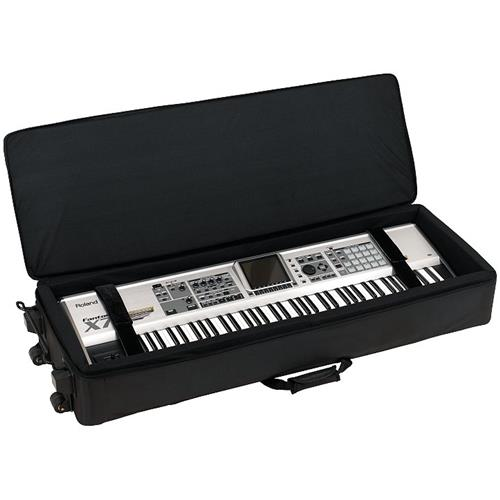 RockCase Deluxe Keyboard Case - 51x15x6, Black