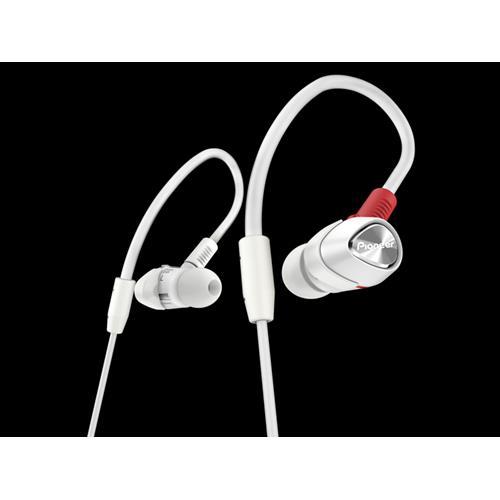 Pioneer DJE-1500 Professional DJ In-Ear Headphones - White