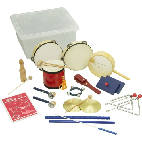 Rhythm Band RB45 15 Piece Deluxe Percussion Kit