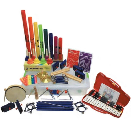 Rhythm Band RB50 50 Player Melody and Rhythm Kit