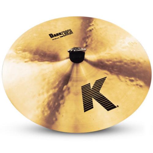 "Zildjian K0902 16"" K Dark Crash Thin Cymbal"