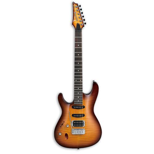 Ibanez SA160FML Electric Guitar - Brown Burst - Left Handed
