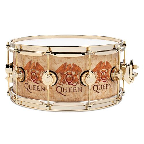 DW Collector's Series Roger Taylor Snare Drum - Queen Print Design