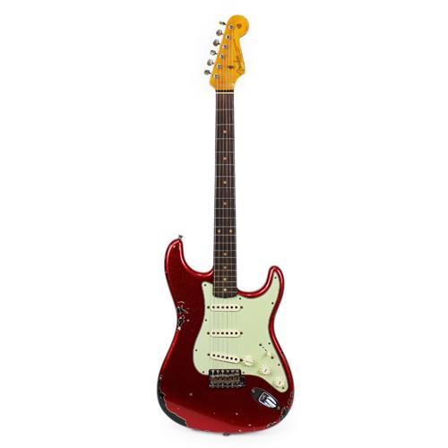 Fender Custom Shop 1962 Heavy Relic Stratocaster - Red Sparkle