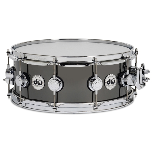 "DW Black Nickel Over Brass Snare Drum - 5.5""x14"""