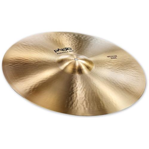 "Paiste Formula 602 Classic Sounds Medium Ride Cymbal - 20"""