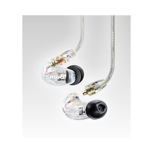 Shure SE215 In-Ear Monitors - Clear