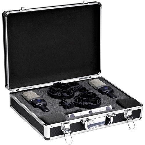 AKG C214 Professional Consenser Microphone Stereo Set
