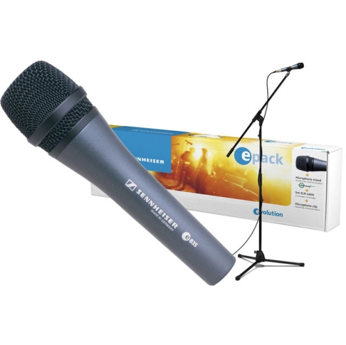 Sennheiser ePack e 835 Live Vocal Microphone Set - Mic, Stand, Cable