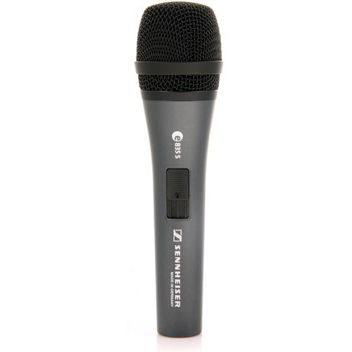 Sennheiser E 835-S Dynamic Cardioid Microphone for Speech and Vocals