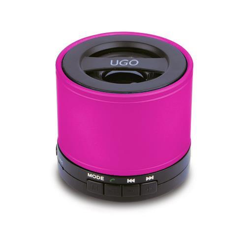 UGO Bluetooth Wireless Mini Speaker - Pink
