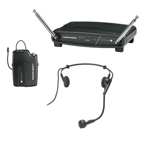 Audio-Technica ATW-901/H Receiver and UniPak Transmitter with Headworn Microphone