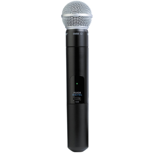 Shure PGXD2/SM58 Handheld Wireless Microphone Transmitter - X8 Frequency