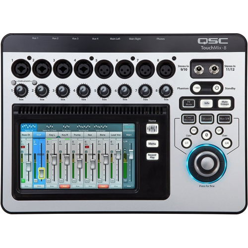 QSC TouchMix 8 Mixer