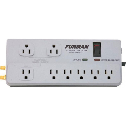 Power Bar Furman PST-2+6 8 Outlet 15A w/Surge Suppression