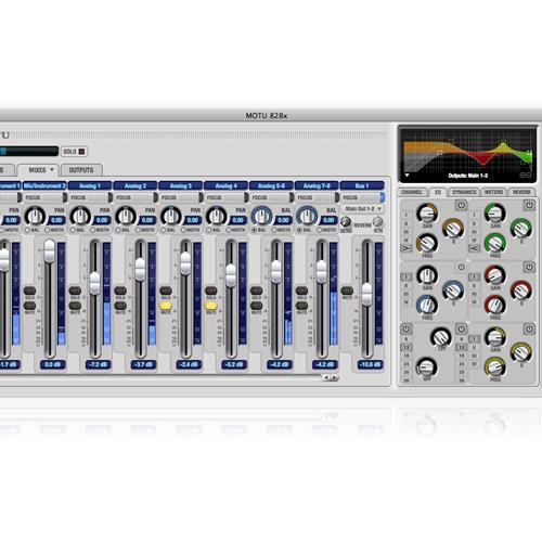 MOTU 828x Thunderbolt/SUB2 Audio Interface