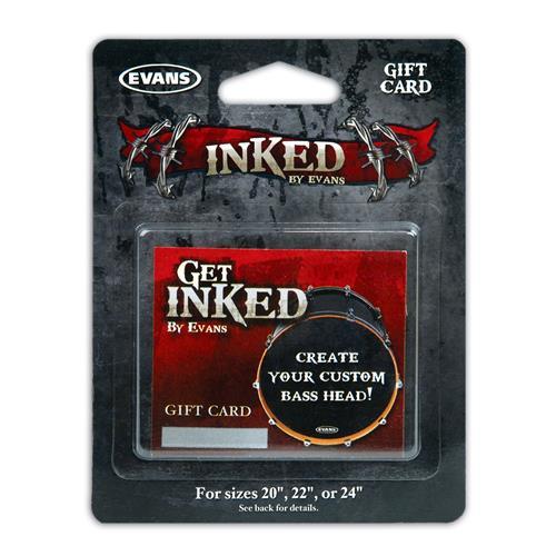 Evans INKCARDB Inked by Evans - Gift Card