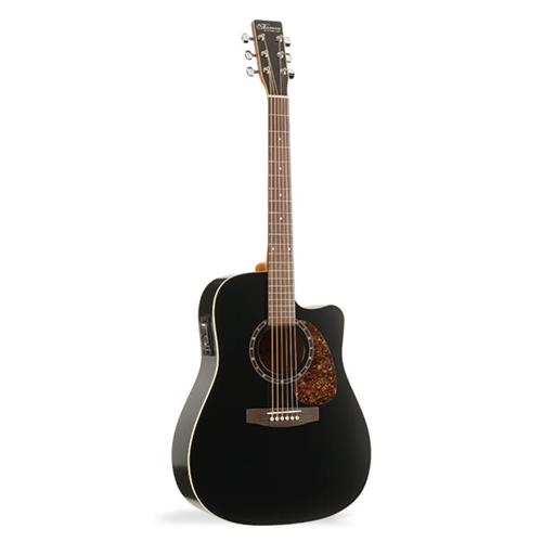 Norman B18 Cutaway Acoustic Guitar with Presys - Black