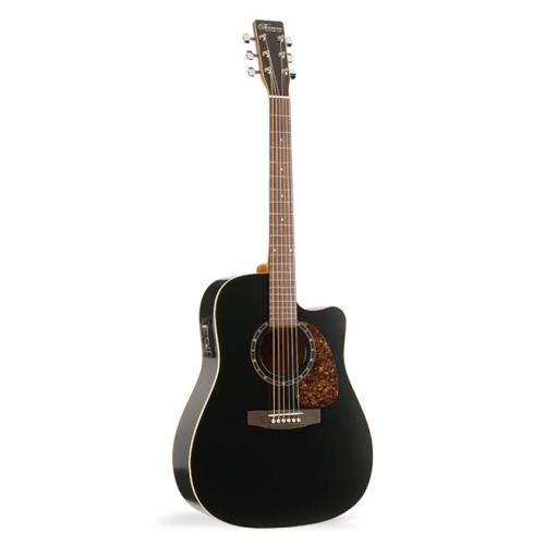norman b18 cutaway acoustic guitar with presys black acoustic guitars best buy canada. Black Bedroom Furniture Sets. Home Design Ideas