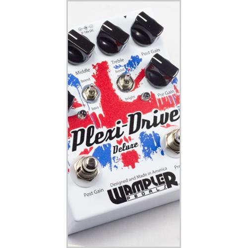 Wampler PlexiDrive Deluxe Effect Pedal