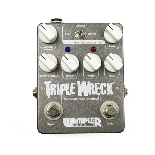Wampler Triple Wreck Modern Rectified Distortion Effect Pedal