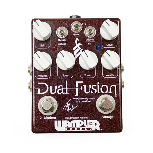 Wampler Tom Quayle Dual Fusion Signature Overdrive Effect Pedal